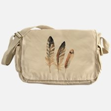 Feathers Messenger Bag