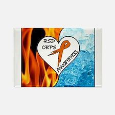 RSD*CRPS Fire & Ice Magnets
