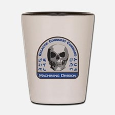 Machining Division - Galactic Conquest Shot Glass