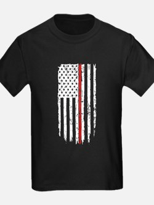 Thin Red Line Flag T-Shirt