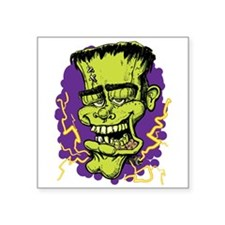 "Frankenstein Square Sticker 3"" x 3"""