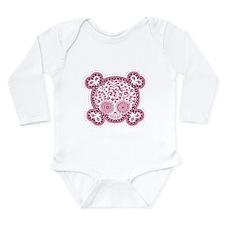 Unique Jolly roger Long Sleeve Infant Bodysuit