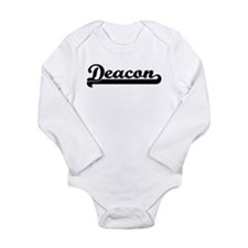 Funny Jersey style Long Sleeve Infant Bodysuit