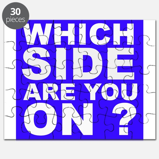 Which Side Are You On Puzzle
