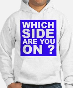 Which Side Are You On Hoodie