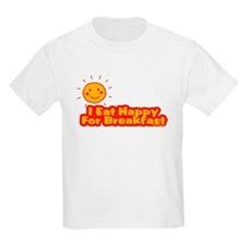I Eat Happy for Breakfast T-Shirt