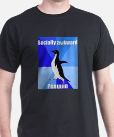 Cute Socially awkward penguin T-Shirt