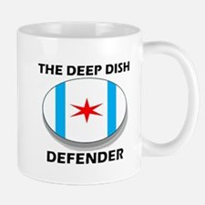 The Deep Dish Defender Mugs