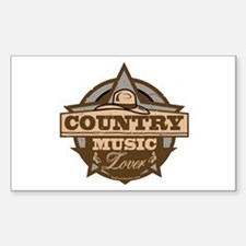 Country Lover Decal