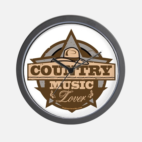 Country Lover Wall Clock