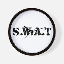 SWAT team Wall Clock
