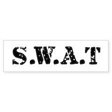 SWAT team Bumper Car Sticker
