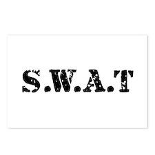 SWAT team Postcards (Package of 8)