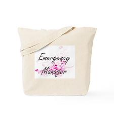 Emergency Manager Artistic Job Design wit Tote Bag