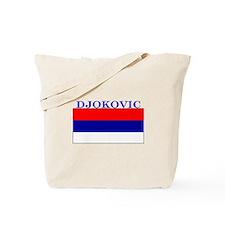 Djokovic Serbia Serbian Tote Bag