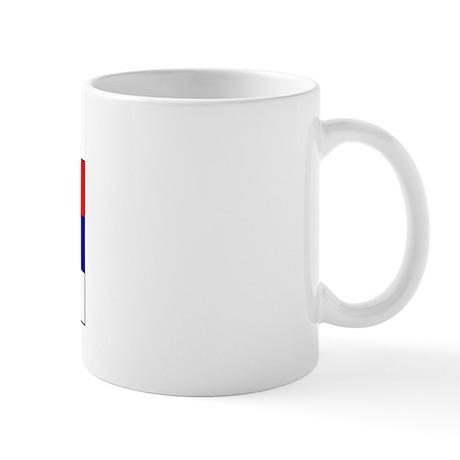 Djokovic Serbia Serbian Mug
