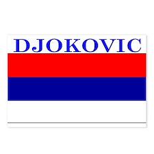 Djokovic Serbia Serbian Postcards (Package of 8)