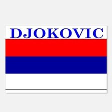 Djokovic Serbia Serbian Postcards (Package of 8)