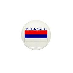 Djokovic Serbia Serbian Mini Button (10 pack)