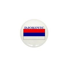 Djokovic Serbia Serbian Mini Button (10 pack)