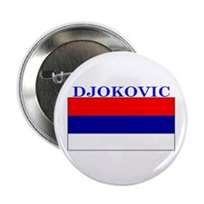 Djokovic Serbia Serbian Button