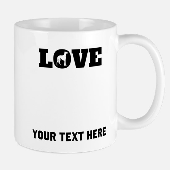 Greyhound Love (Custom) Mugs