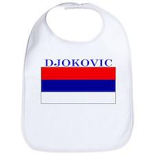 Djokovic Serbia Serbian Bib