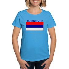 Djokovic Serbia Serbian Tee