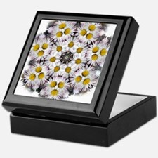 Daisy Wheel Mandala Keepsake Box