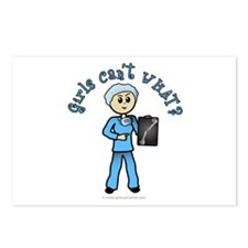 Light X-Ray Technologist Postcards (Package of 8)