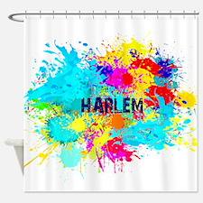 HARLEM BURST Shower Curtain