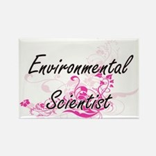 Environmental Scientist Artistic Job Desig Magnets