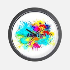 Anaheim Burst Wall Clock