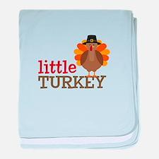 Little Turkey baby blanket