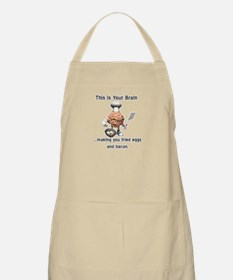 This is Your Brain BBQ Apron
