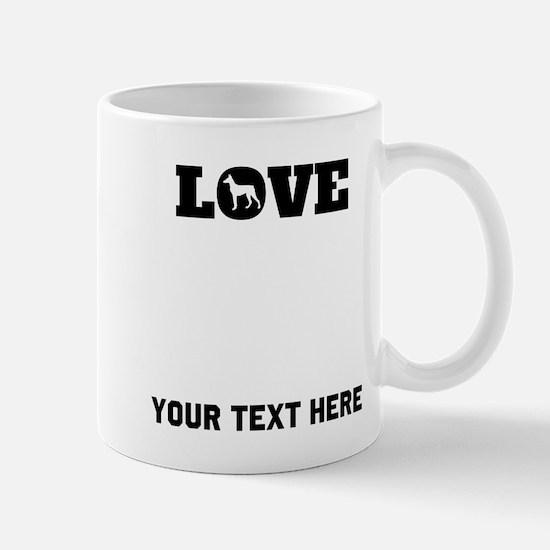 Doberman Love (Custom) Mugs