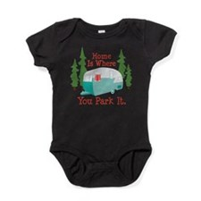 Cute Camper Baby Bodysuit