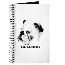 Bulldog Head Shot Journal