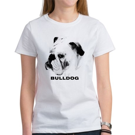Bulldog Head Shot Women's T-Shirt