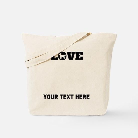Chihuahua Love (Custom) Tote Bag