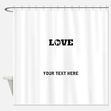 Chihuahua Love (Custom) Shower Curtain