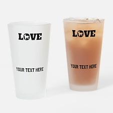 Chihuahua Love (Custom) Drinking Glass