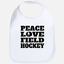Peace Love Field Hockey Bib