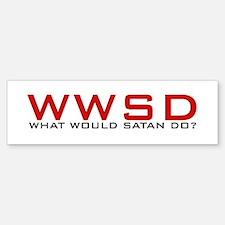 WWSD Bumper Bumper Bumper Sticker