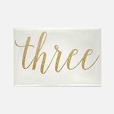 Glitter Three Magnets