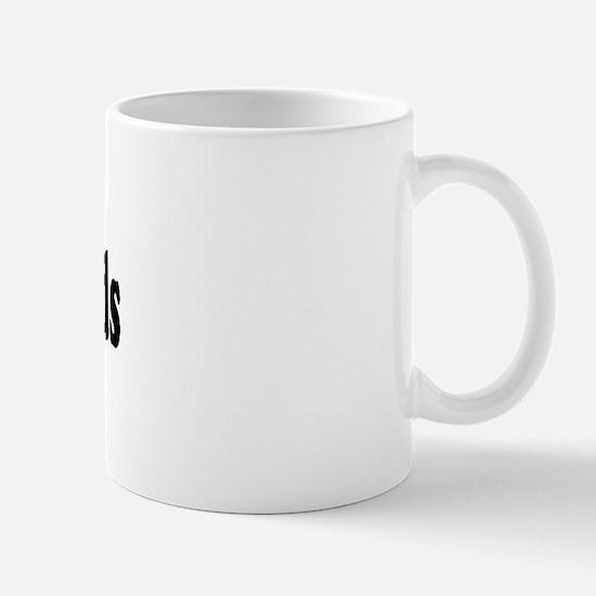 I Love Heart Hot Dads Mug