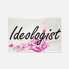 Ideologist Artistic Job Design with Flower Magnets