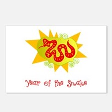 Year of the Dragon Bright Postcards (Package of 8)
