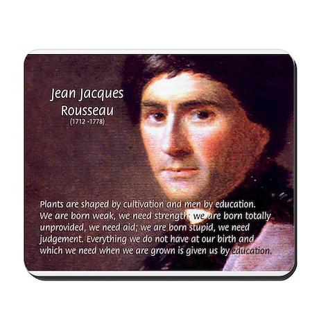 rousseau education Rousseau et l'éducation il a bouleversé à jamais notre vision de l'enfance il a su la considérer pour elle-même, dans ses spécificités.