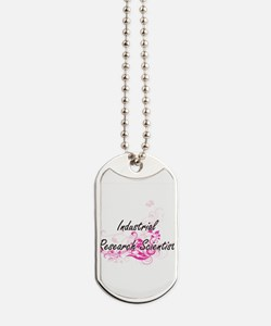 Industrial Research Scientist Artistic Jo Dog Tags